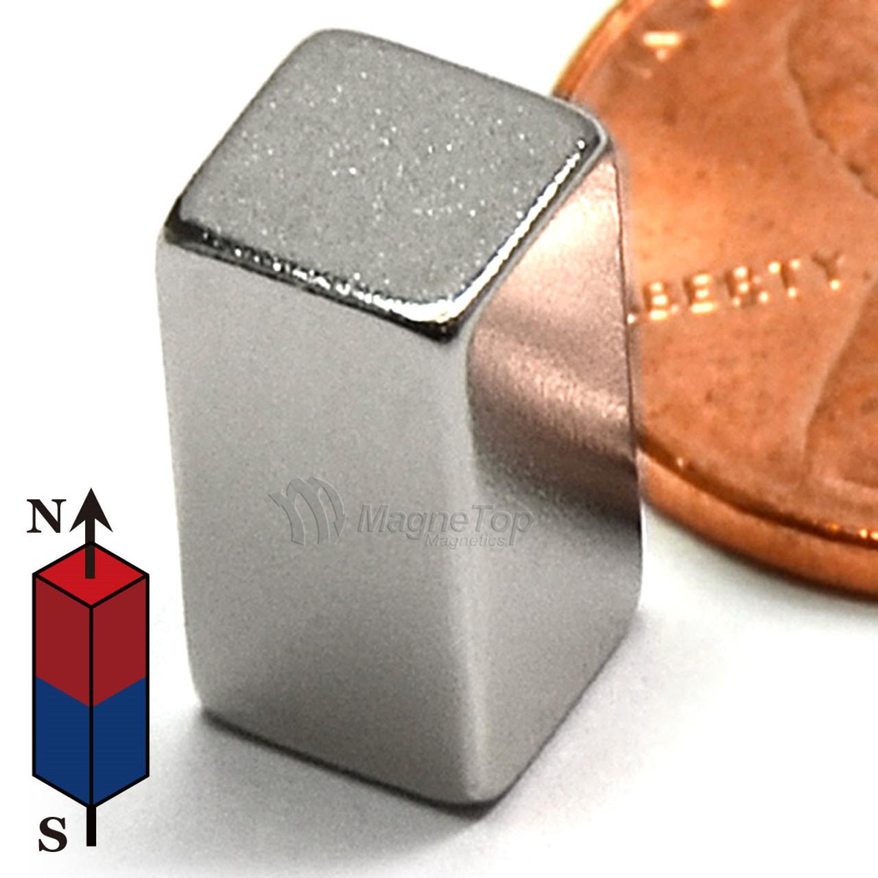 Neodymium Block - 5mm x 5mm x 10mm
