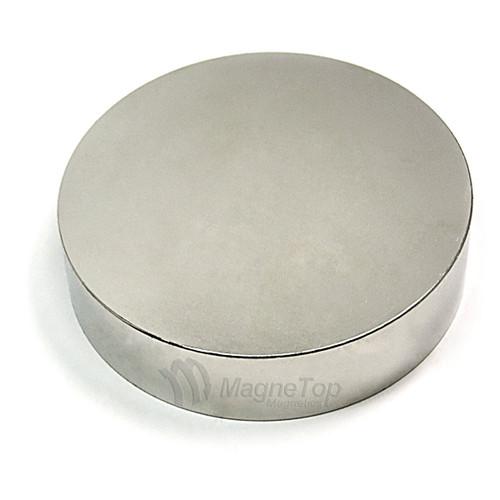 Neodymium Disk  -  101.6mm x 25.4mm - N42