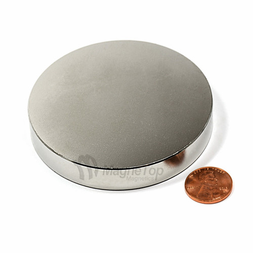 Neodymium Disk  -  75mm x 15mm - N42