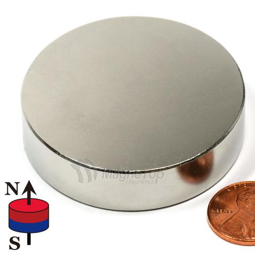 Neodymium Disk - 50.8mm x 12.7mm