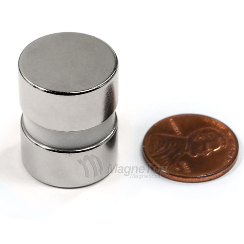 Neodymium Disk  -  20mm x 10mm - N42