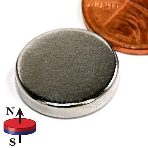 Neodymium Disk - 15mm x 3mm