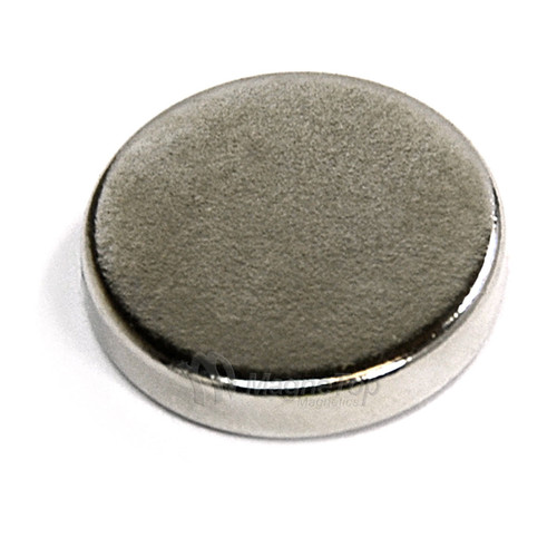 Neodymium Disk  -  15mm x 3mm - N52