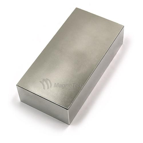 Neodymium Block  -  100mm x 50mm x 25mm - N42
