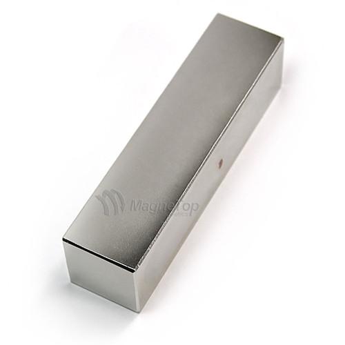Neodymium Block  -  100mm x 25mm x 25mm - N42