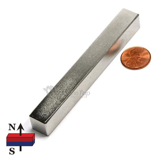 Neodymium Block - 100mm x 12.5mm x 12.5mm - N45