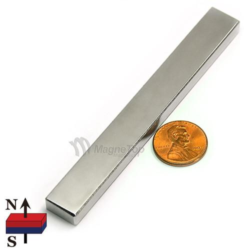 Neodymium Block - 100mm x 12.5mm x 6mm - N45
