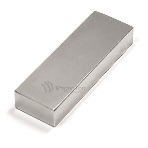 Neodymium Block - 75mm x 25mm x 12.5mm - N52