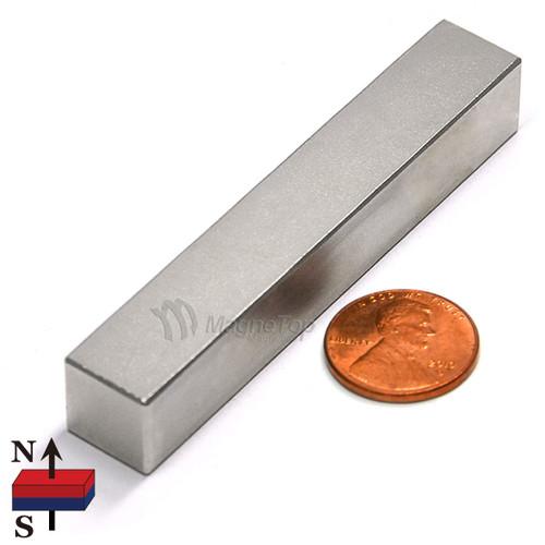 Neodymium Block - 75mm x 12.5mm x 12.5mm - N50