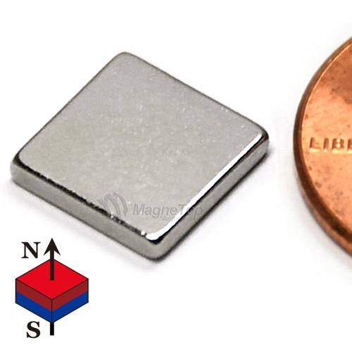 Neodymium Block - 10mm x 10mm x 1.5mm