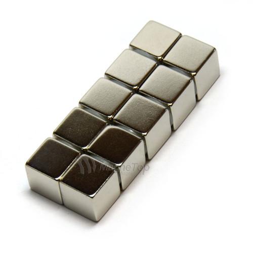 Neodymium Cube  -  12.7mm x 12.7mm x 12.7mm - N45