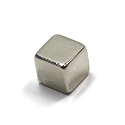 Neodymium Cube  -  10mm x 10mm x 10mm - N45