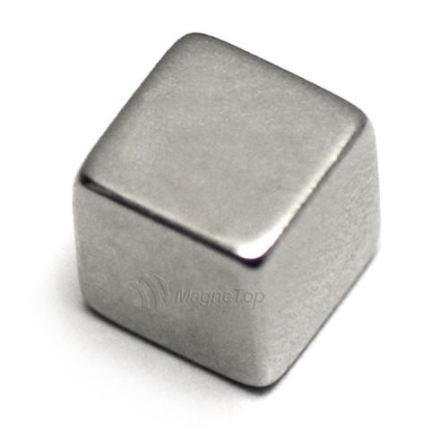 Neodymium Cube  -  6mm x 6mm x 6mm - N45