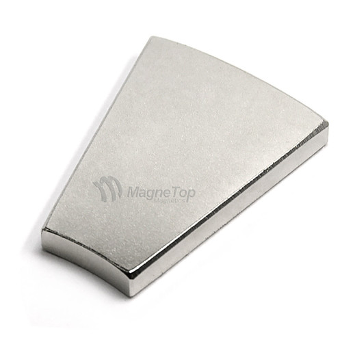 203.2mm (OD) x 101.6mm(ID) x 6.35mm 22.5 Degree -N42 Neodymium Wedge