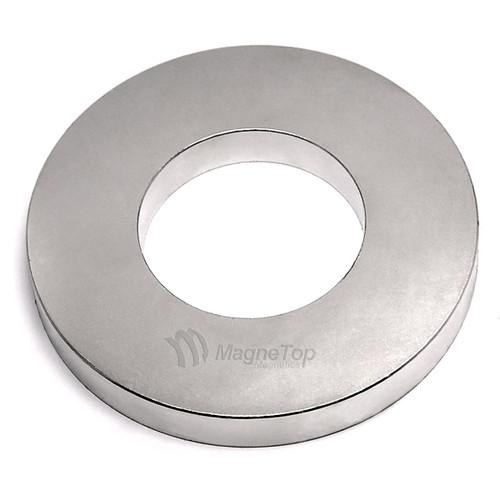 101.6mm (OD) x 50.8mm(ID) x 12.7mm - N45-Neodymium Ring