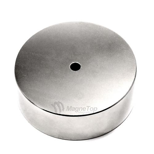 76.2mm (OD) x 6.35mm(ID) x 25.4mm - N45-Neodymium Ring