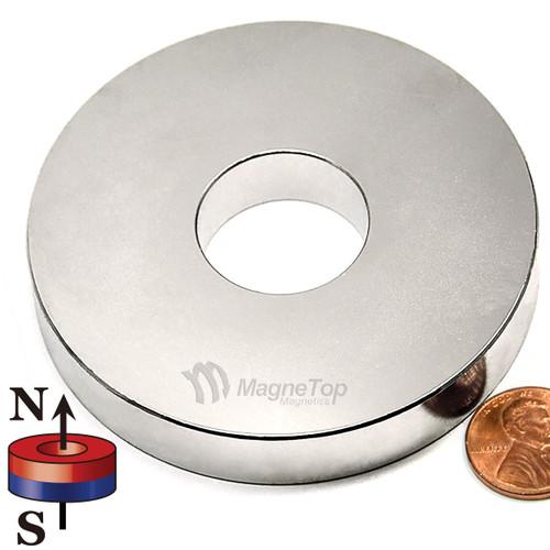 76.2mm (OD) x 25.4mm(ID) x 12.7mm - N42-Neodymium Ring