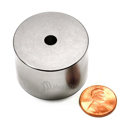 38.1mm (OD) x 6.35mm(ID) x 25.4mm - N42-Neodymium Ring