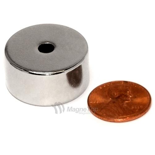 25.4mm (OD) x 4.8mm(ID) x 12.7mm - N45-Neodymium Ring
