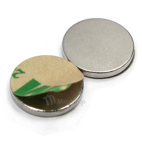 Neodymium Adhesive -  12.5mm x 1.5mm - N45