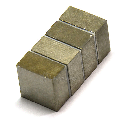 SmCo Block-12mm x 12mm x 6mm Samarium Cobalt Sm2Co17-26 320 Celsius