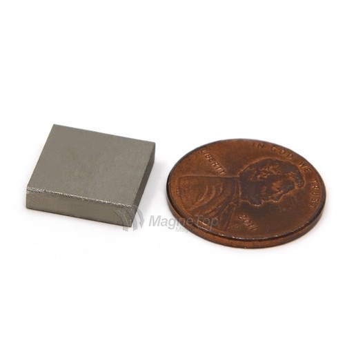 SmCo Block-12mm x 12mm x 3mm Samarium Cobalt Sm2Co17-26 320 Celsius