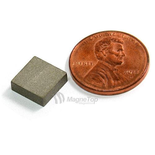 SmCo Block-10mm x 10mm x 3mm Samarium Cobalt Sm2Co17-26 320 Celsius