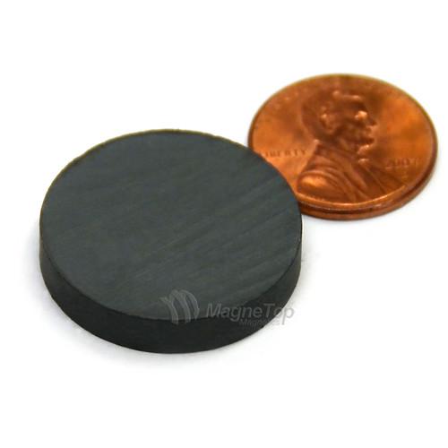 Ferrite Disc - 25mm x 5mm - Y30BH