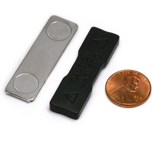 Name Tag Badge Magnet  Set of 10 /w Adhesive 2MG2