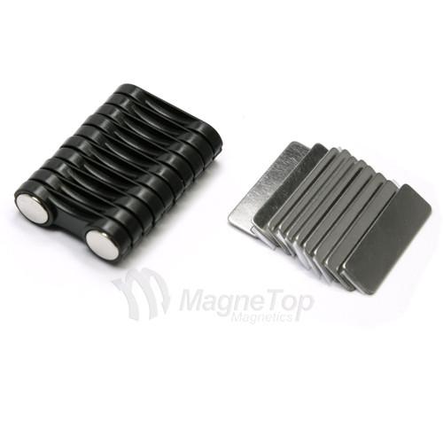 Name Tag Badge Magnet  Set of 10 /w Adhesive 2MG3
