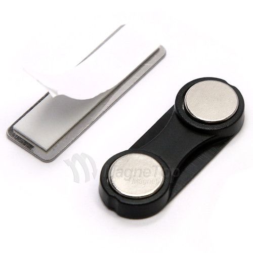 Name Tag Badge Magnet Set of 100 /w Adhesive 2MG3
