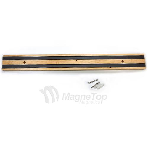 Premium Oak Magnetic Knife Holder 470mm