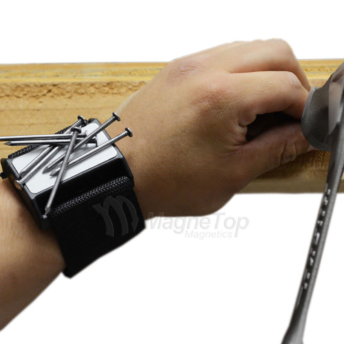 Magnetic Wrist Holder for Tools and Small Parts