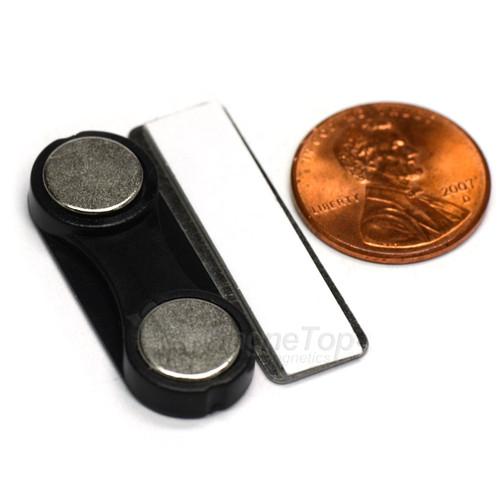 Name Tag Badge Magnet  Set of 1 /w Adhesive 2MG3
