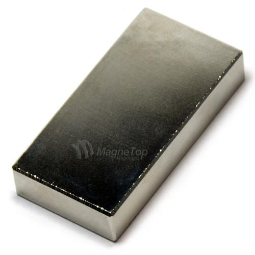 Neodymium Block  -  50mm x 25mm x 10mm - N42