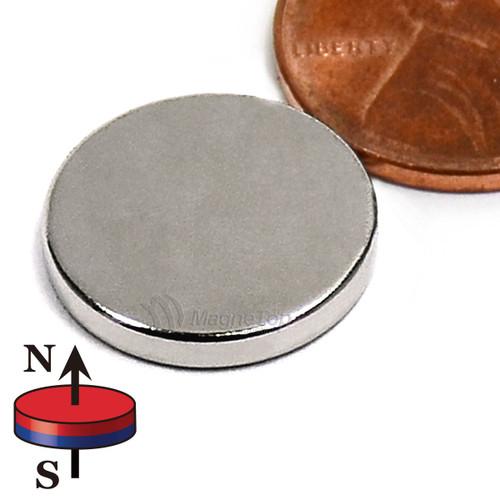 Neodymium Disk - 15mm x 2mm