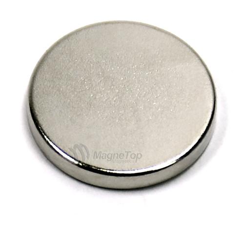 Neodymium Disk  -  15mm x 2mm - N52
