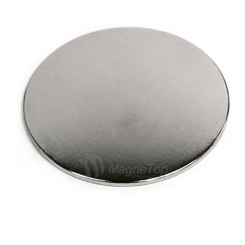 Neodymium Disk  -  50.8mm x 1.6mm - N45