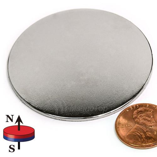 Neodymium Disk - 50.8mm x 1.6mm