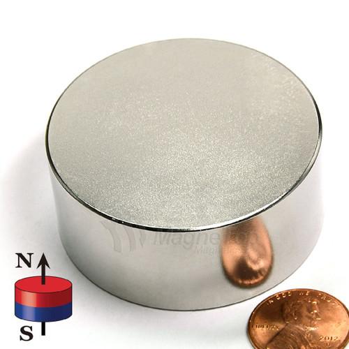 Neodymium Disk - 50mm x 20mm
