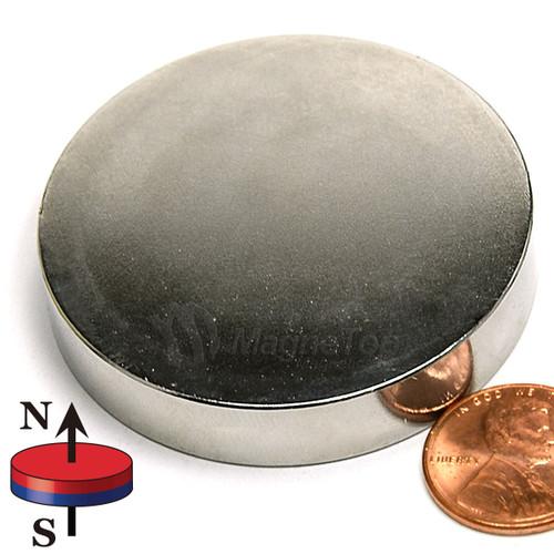 Neodymium Disk - 50mm x 10mm