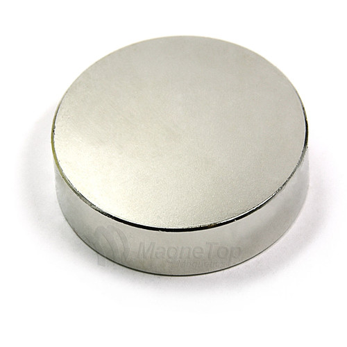 Neodymium Disk  -  45mm x 10mm - N35