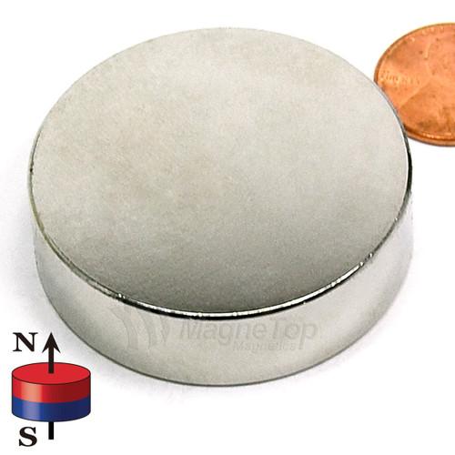Neodymium Disk - 45mm x 10mm