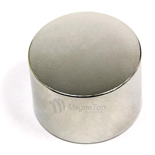 Neodymium Disk  -  40mm x 25mm - N42
