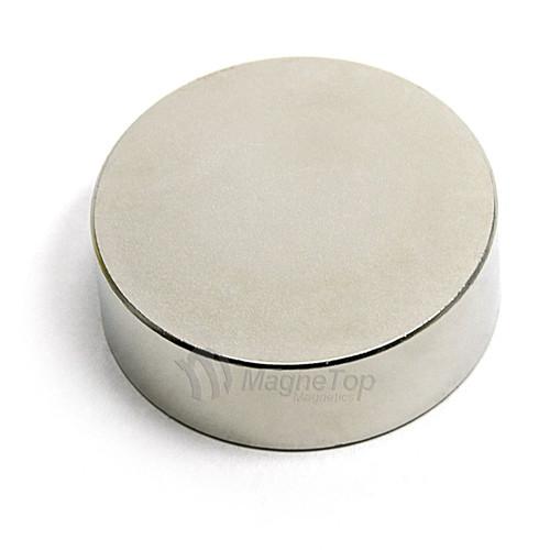 Neodymium Disk  -  40mm x 10mm - N42