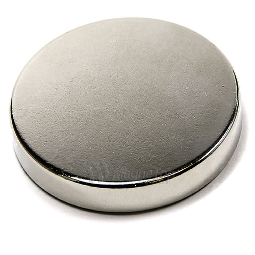 Neodymium Disk  -  40mm x 8mm - N42