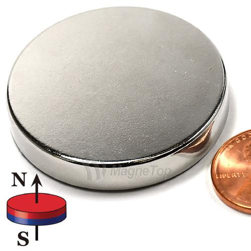 Neodymium Disk - 40mm x 8mm