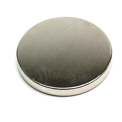 Neodymium Disk  -  40mm x 5mm - N42