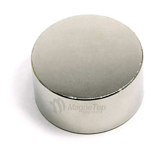 Neodymium Disk  -  38.1mm x 12.7mm - N45
