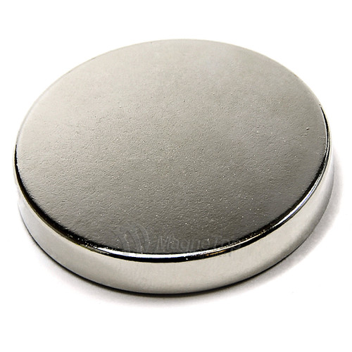 Neodymium Disk  -  38.1mm x 6.35mm - N45